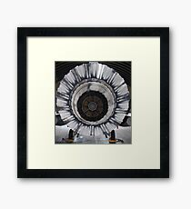 Fighting Falcon, back stage. Framed Print