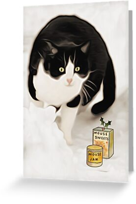 Christmas Cat Treats by simpsonvisuals