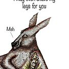 I may shave my legs for you by Jenny Wood