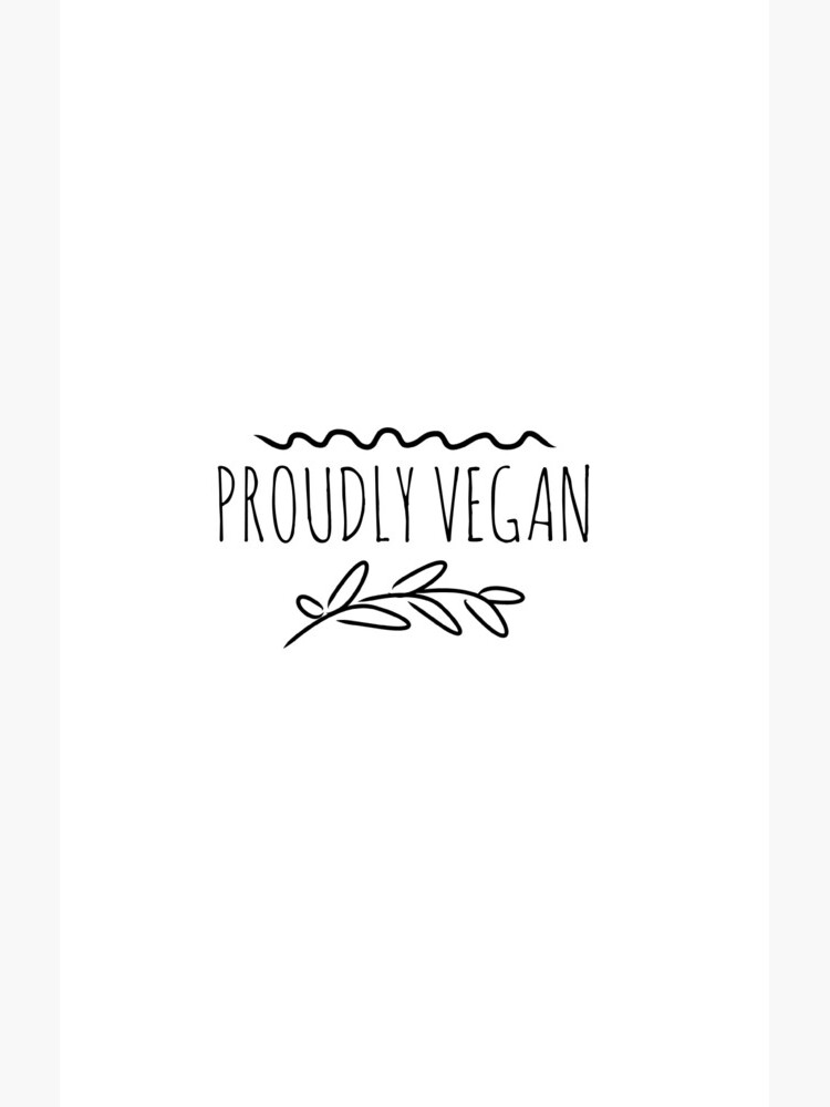 Proudly Vegan Funny Gift Idea de FunnyGiftIdeas