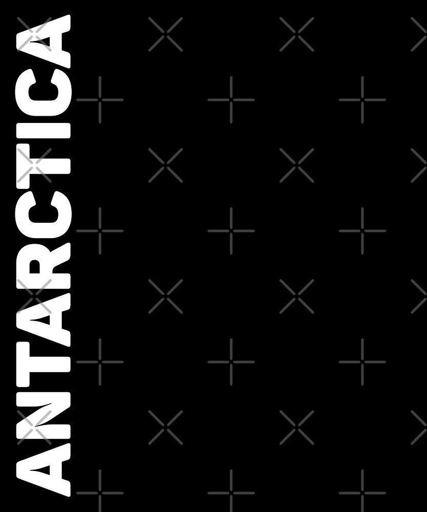 Antarctica T-Shirt by designkitsch