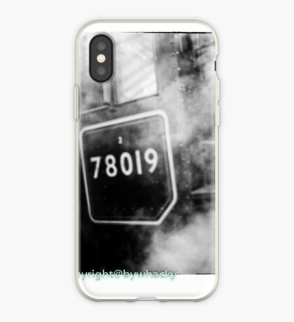 78019 gets steamed up iPhone Case