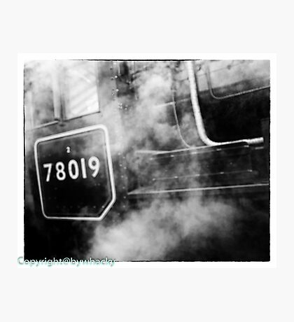 78019 gets steamed up Photographic Print