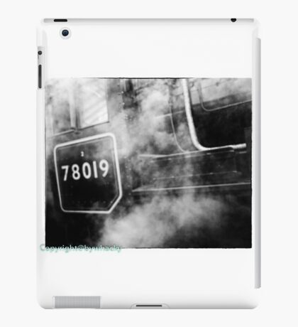 78019 gets steamed up iPad Case/Skin