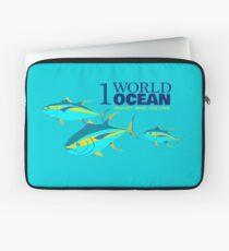 1 Weltozean - Gelbflossentunfisch Laptoptasche