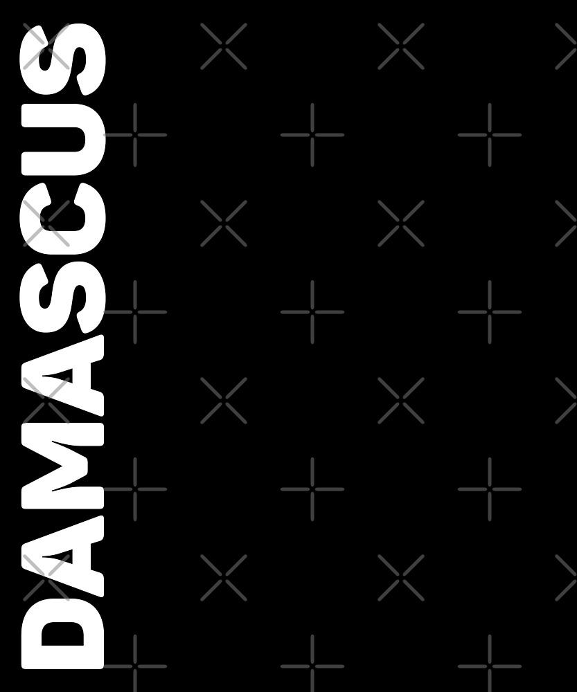 Damascus T-Shirt by designkitsch