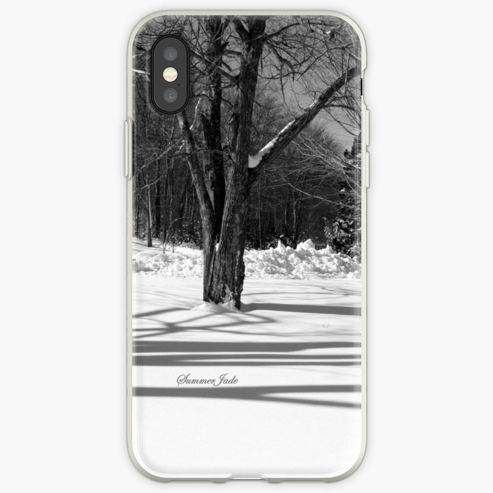 That Cold Winter Sun ~ On Snow iPhone Case & Cover