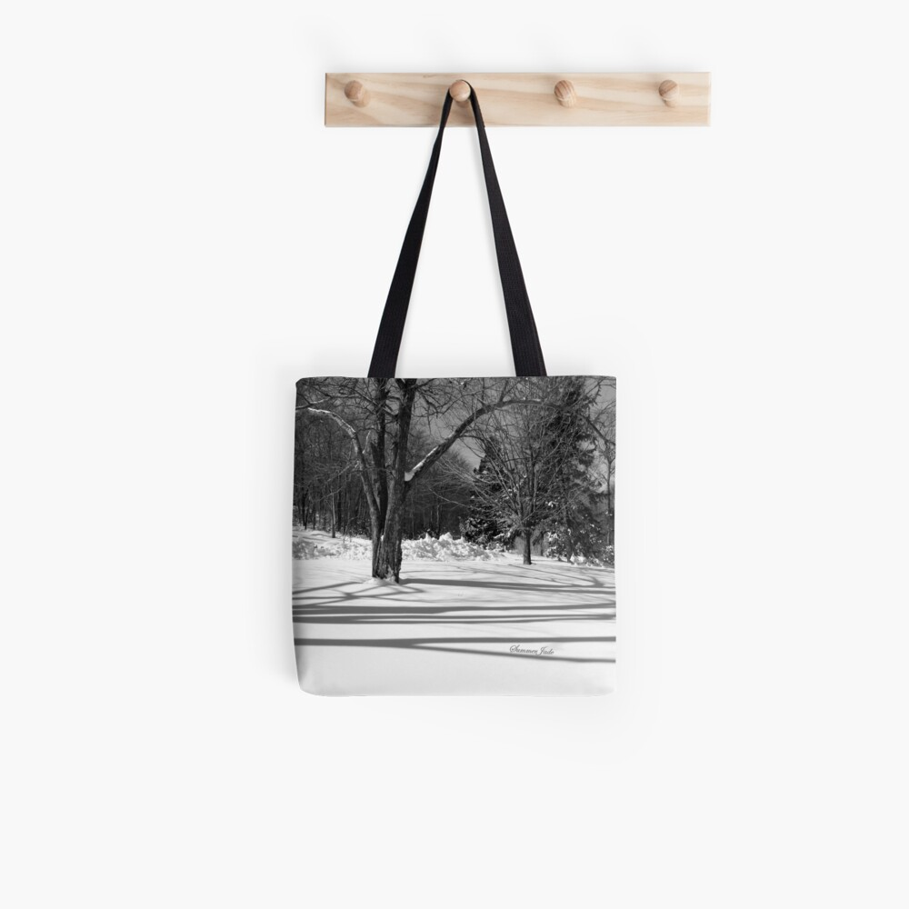 That Cold Winter Sun ~ On Snow Tote Bag