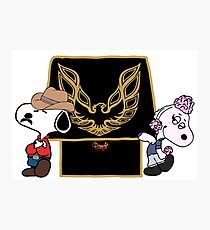 Snoopy the Bandit Photographic Print