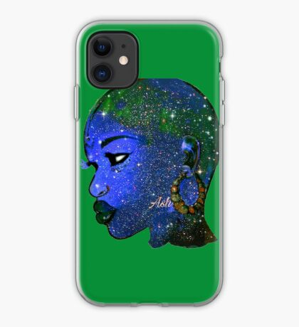 Naturally Bald Woman And Bold Beautify Made Queen iPhone Case