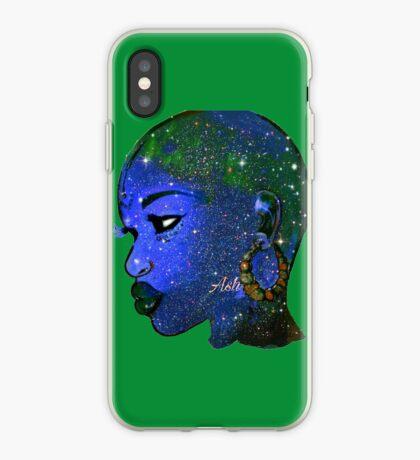 Natürlich kahle Frau und mutige Verschönerung der Königin iPhone-Hülle & Cover