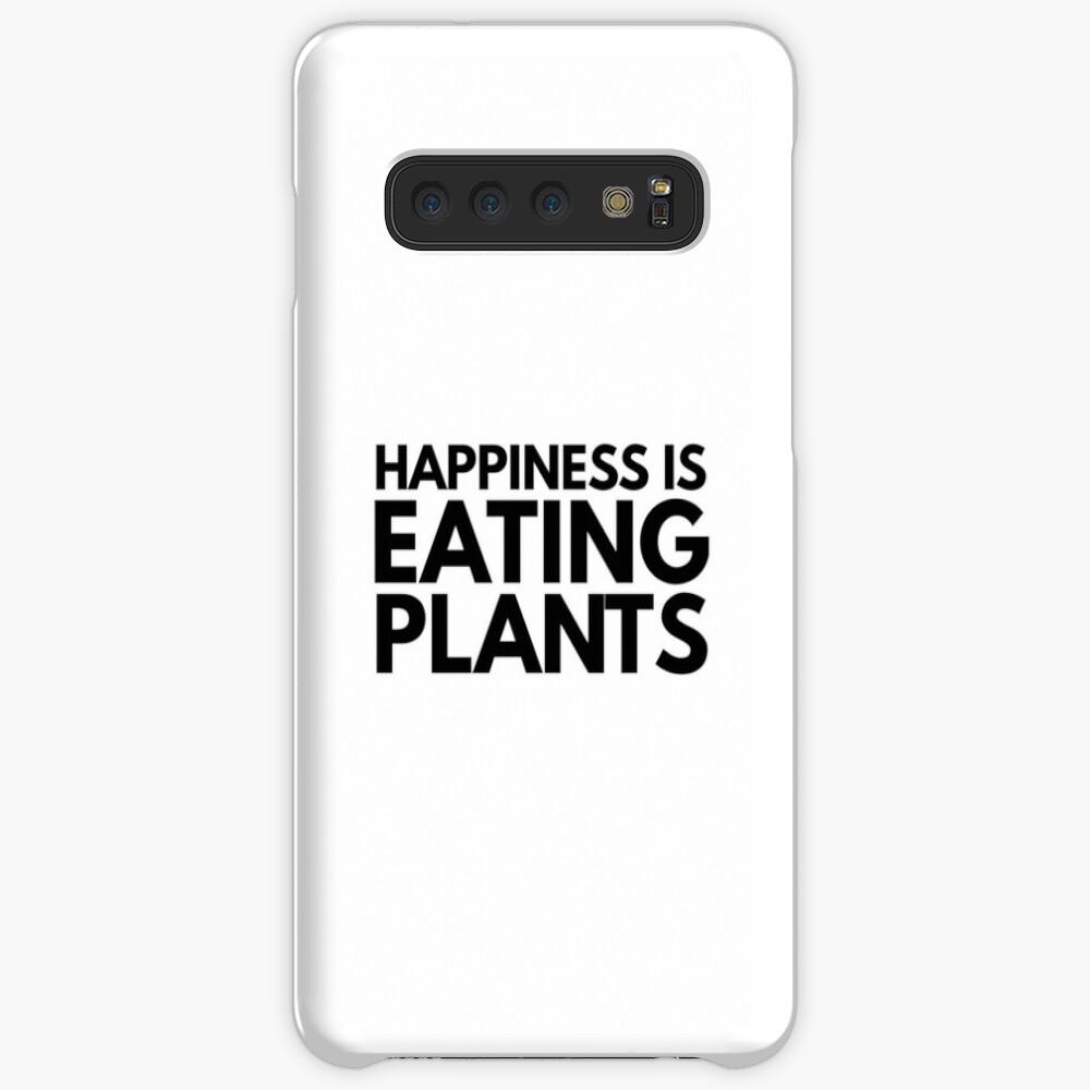 Vegan Plant Lover Funny Gift Idea Funda y vinilo para Samsung Galaxy