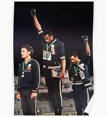 Black Power Salute Poster von 1968 Poster