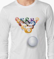 Pool Balls Long Sleeve T-Shirt