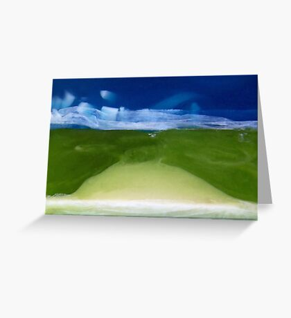 Soaplandscape. II Greeting Card