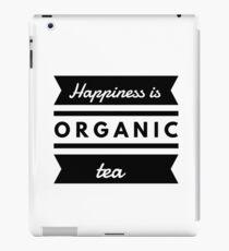 Organic Tea Lover Funny Gift Idea iPad Case/Skin