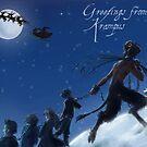 Krampus by Moonlight by FoolishMortal