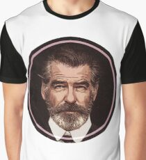 Pierce  Brosnan Graphic T-Shirt