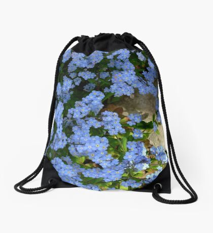 Forget me not. II Drawstring Bag