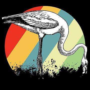 Flamingo neck by GeschenkIdee