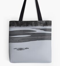 Concord River Ice Tote Bag