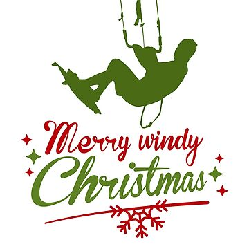 Merry Windy Christmas Kite Surfing  by TFever