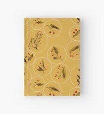 Cozy Baubles #redbubble #xmas Hardcover Journal