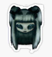 Silver Doll Sticker