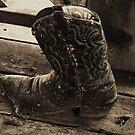 Old Cowboys Never Die by Barbara Morrison