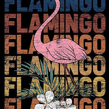 Flamingo animal by GeschenkIdee