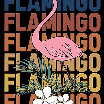 Flamingo pink plumage by GeschenkIdee