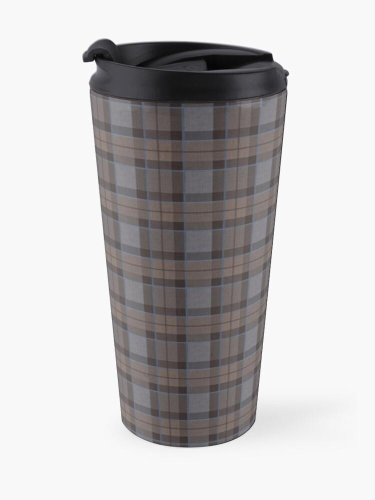 Alternate view of outlander tartan - fraser tartan Travel Mug