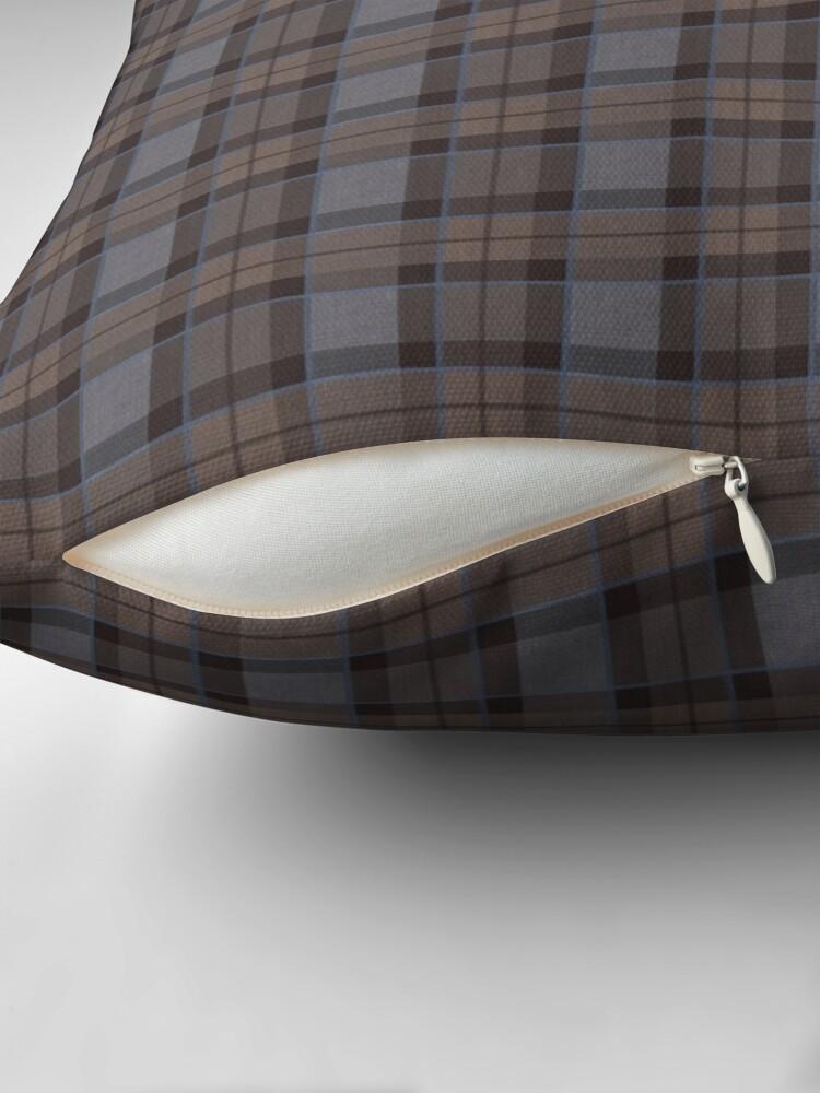 Alternate view of outlander tartan - fraser tartan Throw Pillow