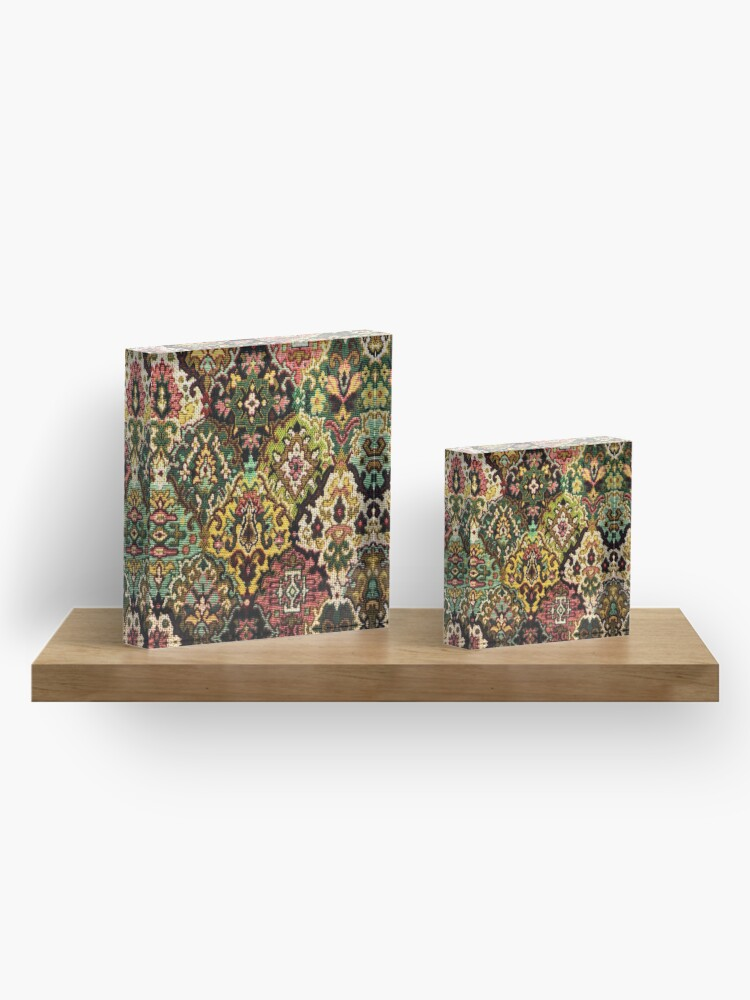 Alternate view of Tapestry Acrylic Block
