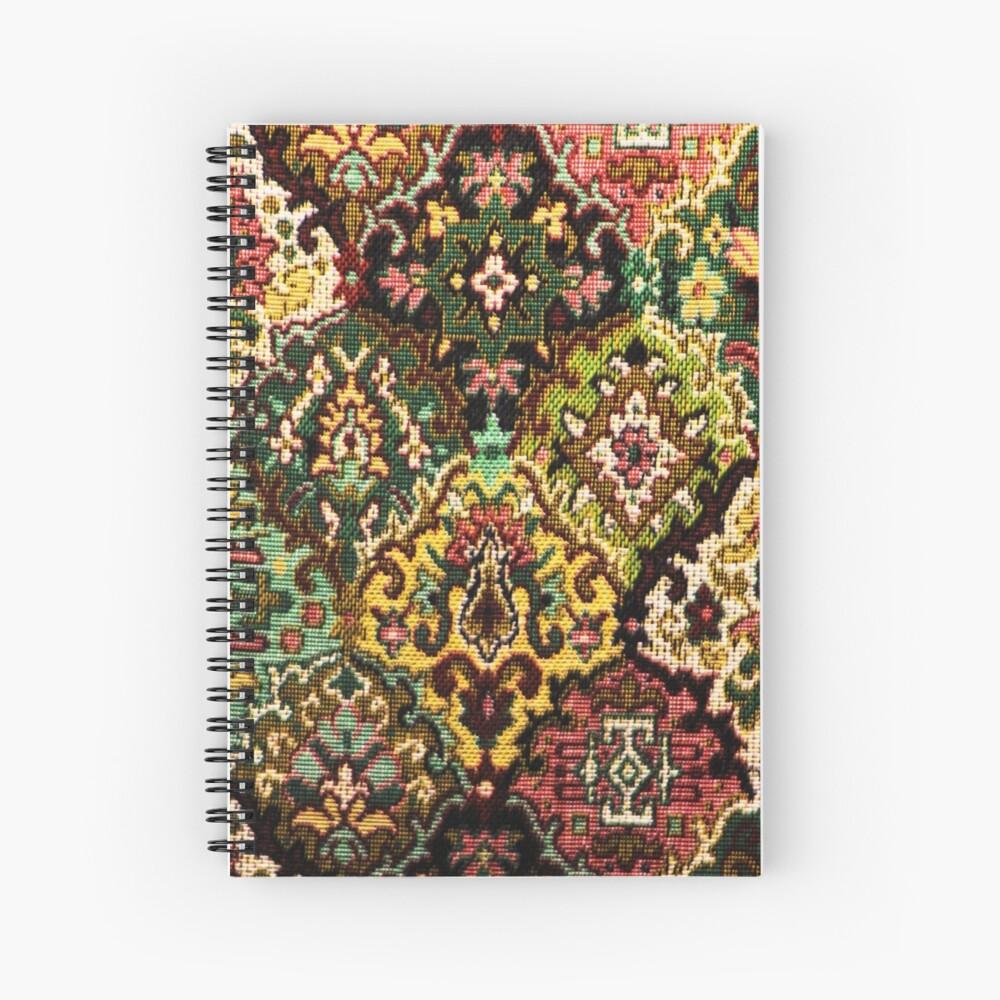 Tapestry Spiral Notebook
