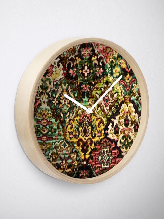 Alternate view of Tapestry Clock