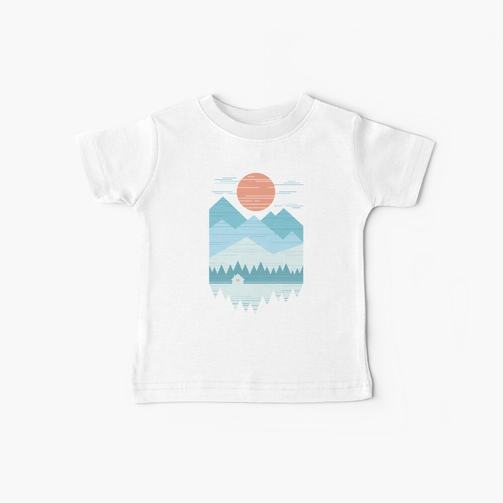 Cabin In The Snow Baby T-Shirt