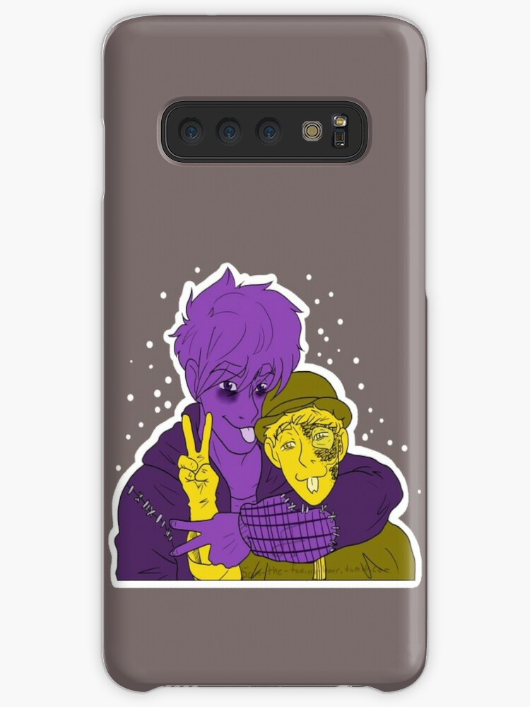 'The Shadowling and Danger Noodle' Case/Skin for Samsung Galaxy by  ZheLazyFox