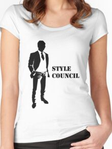 Business - Style Council Women's Fitted Scoop T-Shirt