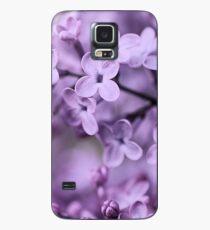 Lila Hülle & Klebefolie für Samsung Galaxy