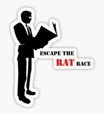 Business - Rat Race Sticker