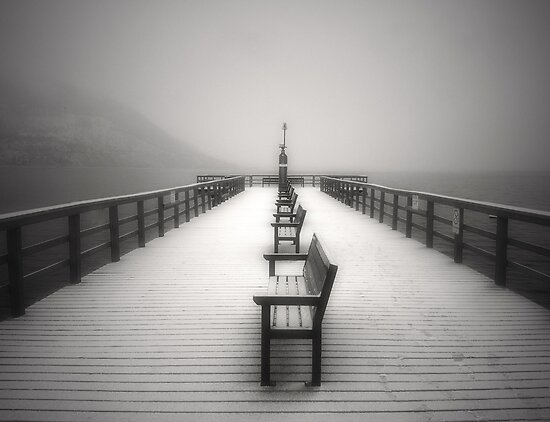 The Winter Pier by Tara  Turner