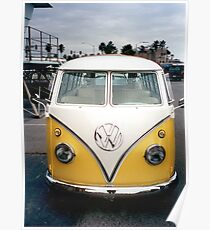 VW Bus Split window Poster
