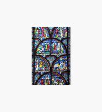 Stained glass window Art Board