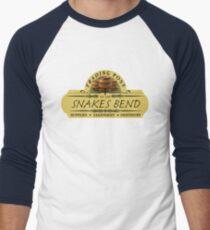 Almost Heroes - Snakes Bend Trading Post Men's Baseball ¾ T-Shirt
