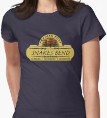 Almost Heroes - Snakes Bend Trading Post Womens Fitted T-Shirt