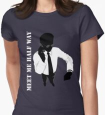 Business - Meet me half way Womens Fitted T-Shirt
