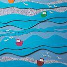 The fishing fleet... by Catherine MacBride