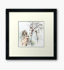 """""""NOVEMBER"""" from the series """"Calender Sheets"""" Framed Print"""