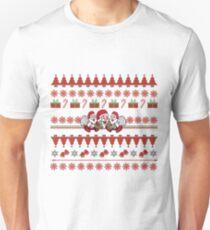Happy Santa Ugly Christmas Sweater Unisex T-Shirt